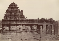 Chowdanpoor. A temple of Siva. [Chaudanpur]